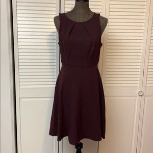 Elle Maroon Dress Size Medium